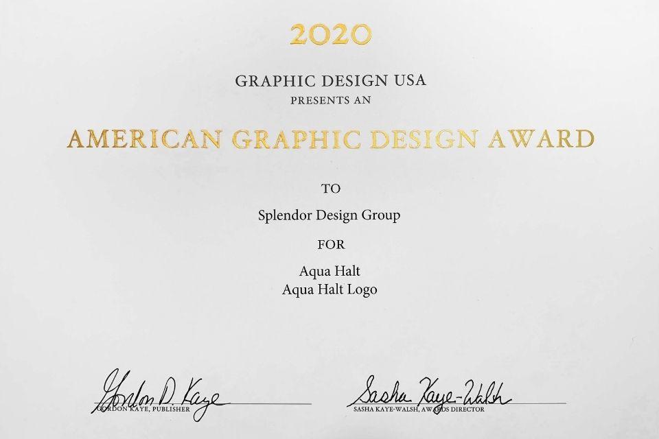 Graphic Design Award